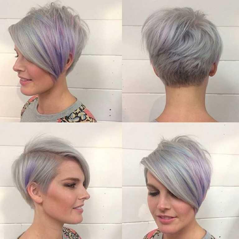 Kurze Asymmetrische Frisuren – Moderne Frisuren