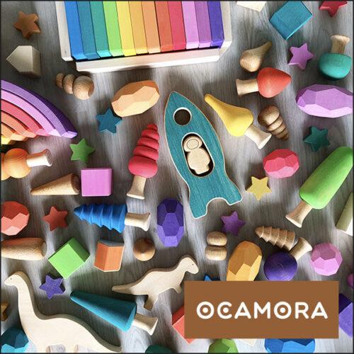 ocamora kvadrat med ramme