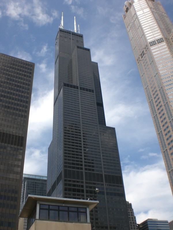 Willis Tower Tallest Building in Chicago
