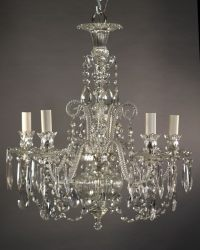 Antique Crystal Chandelier, English | Fritz Fryer