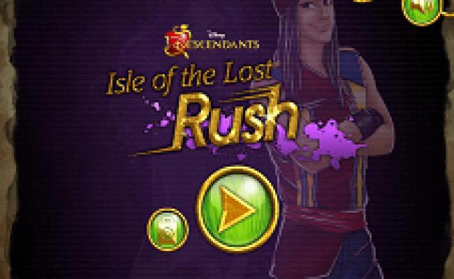 Isle Of The Lost Rush Descendants Games