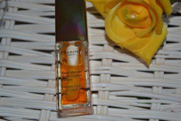 Clarins huile confort lèvres Eclat minute