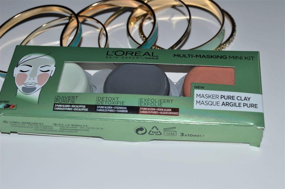 mini kit masque pure l'oréal paris