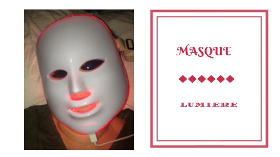 photomodulation masque lumiere frivole et futile