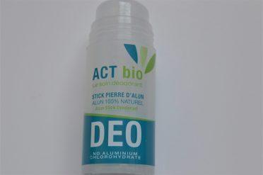 soin déodorant act bio
