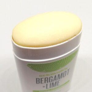 Embout déodorant bergamot & lime schmidt's