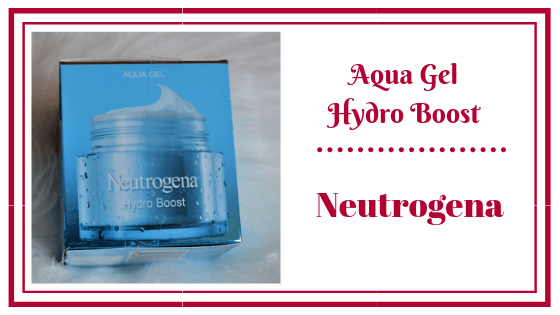 hydro Boost aqua gel neutrogena