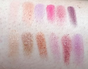 martine cosmetic swatch douce tchoin