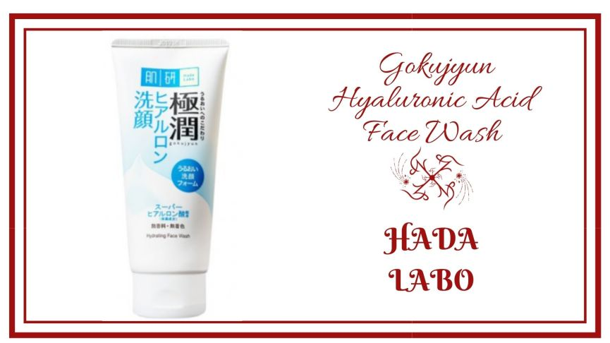 Hada Labo - Gokujyun Hyaluronic Acid Face Wash