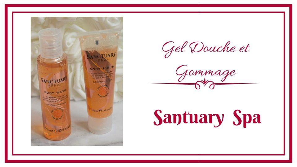 frivole et futile Santuary spa gel douche et gommage