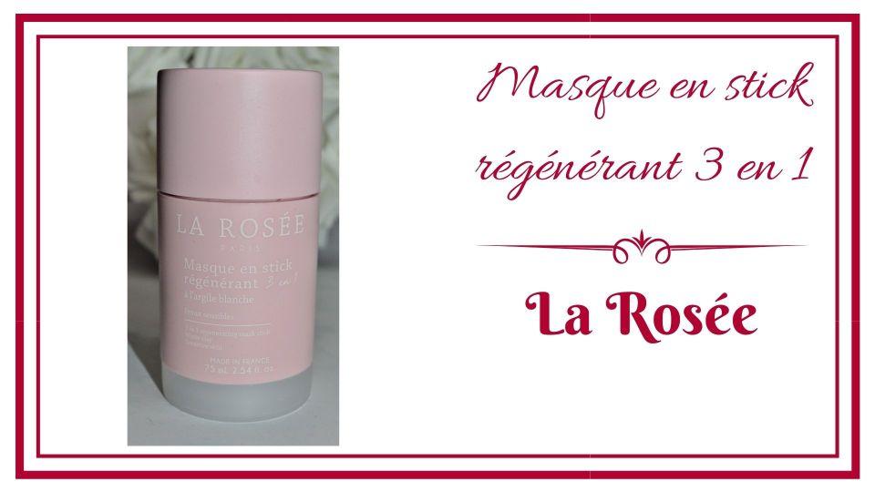 Masque en stick régénérant 3 en 1 la rosée