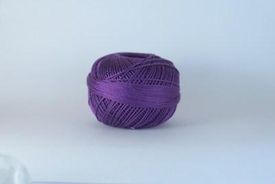 Coton Lizbeth 20 couleur 641 Lilac Dark