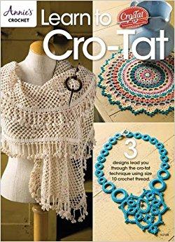 Learn to Cro tat - Livre frivolité au crochet