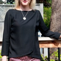 Burda Wrap Blouse