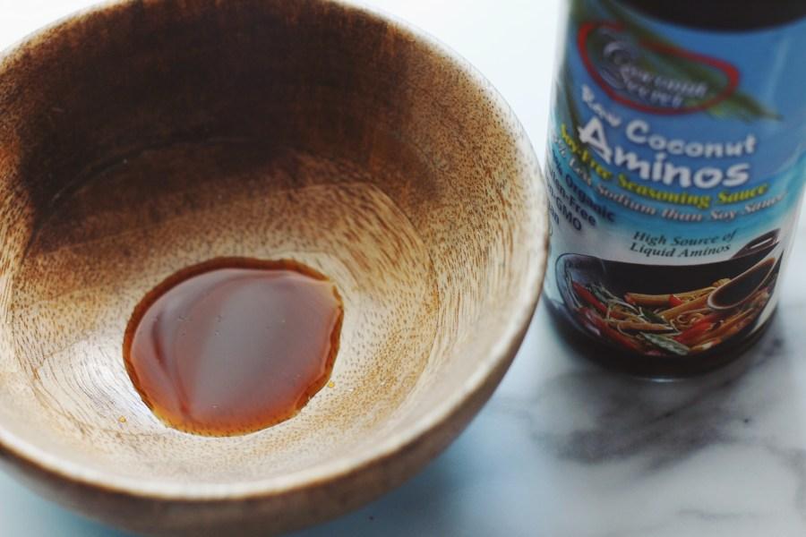 Raw Coconut Aminos Soy-Free Sauce