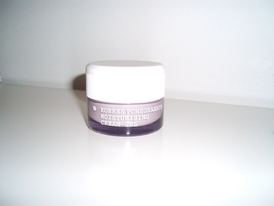 Korres Pomegranate Moisturising Cream-Gel Review
