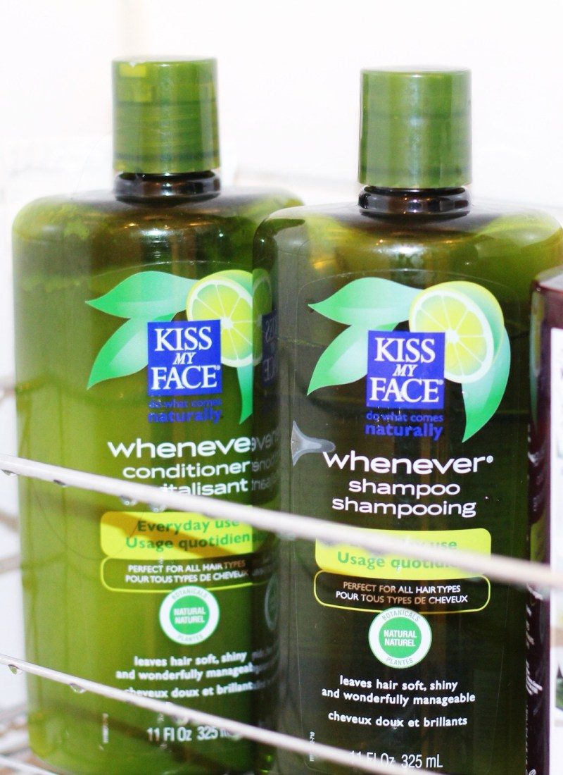 Kiss My Face Whenever Shampoo & Conditioner