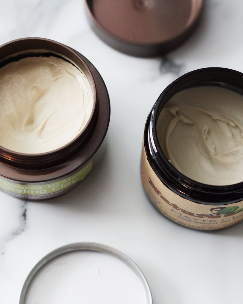 Natural Hair Clays: Angel vs Nature's Zero Matte Clay