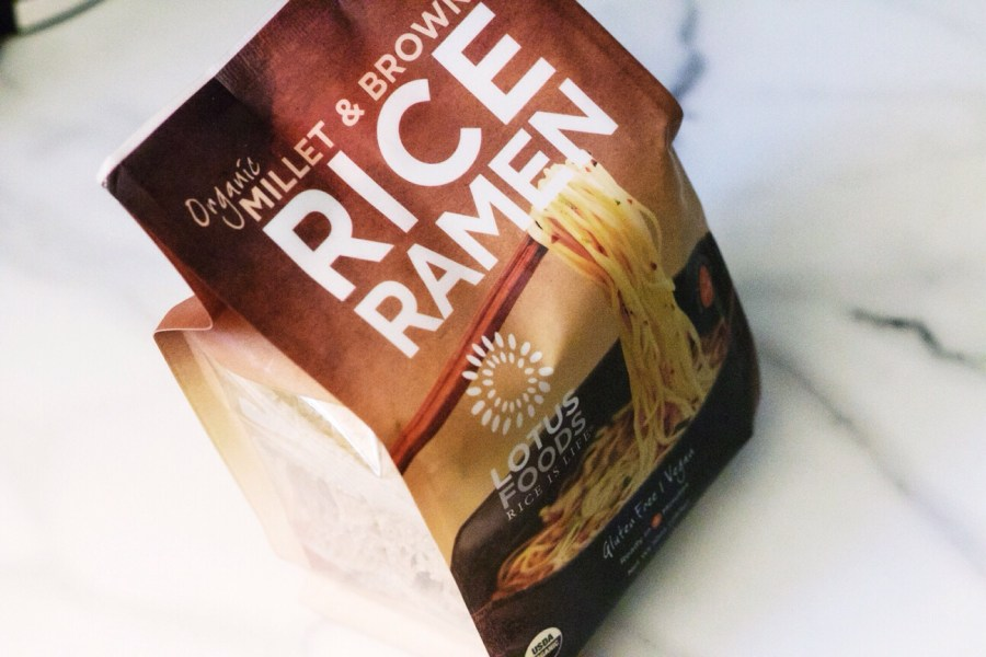 iHerb haul lotus foods rice millet ramen