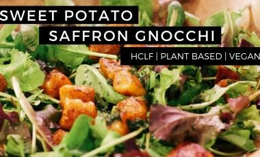 Sweet Potato Gnocchi w/ Saffron, Chili & Ginger