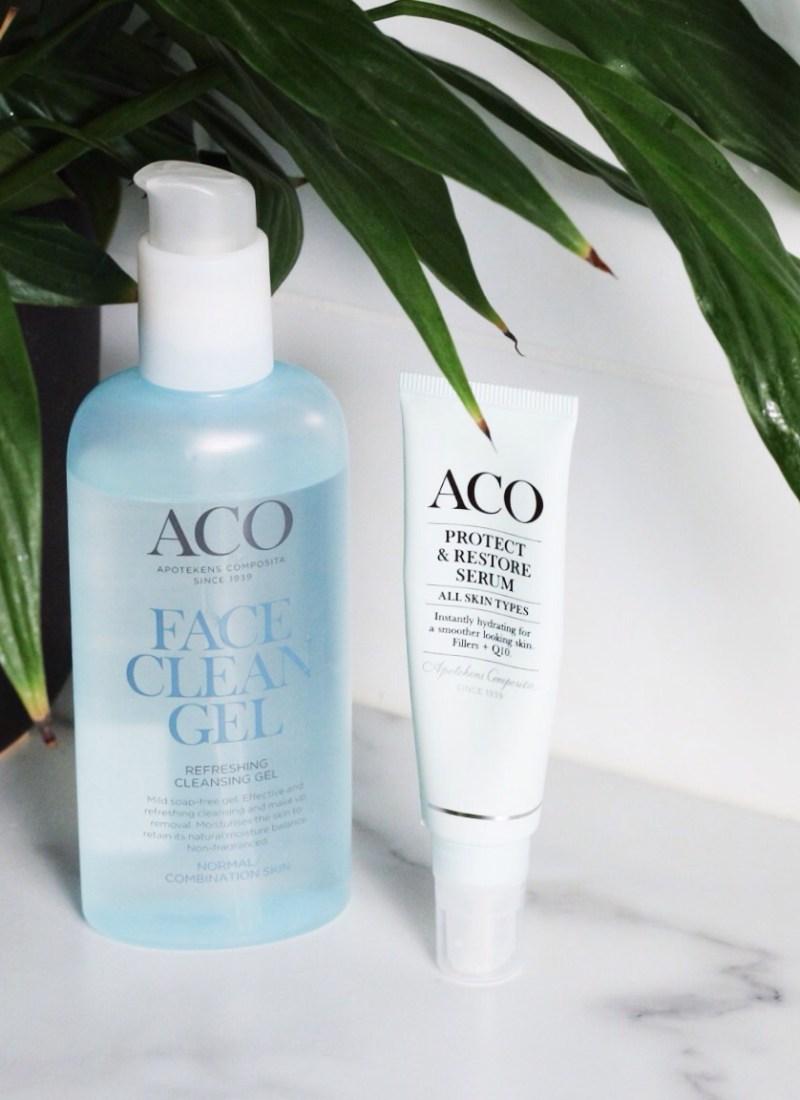 ACO Cleansing Gel + Protect & Restore Q10 Serum