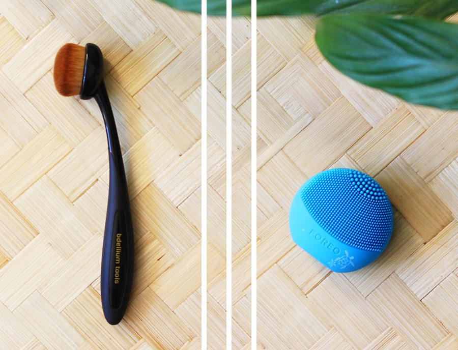 Bdellium Tools Multi-purpose oval makeup brush