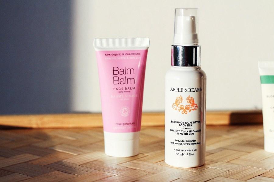 BalmBalm Face Balm and APPLE & BEARS Bergamot & Green Tea Luxurious Body Silk