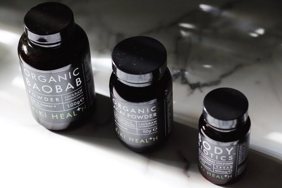 Kiki Health Body Biotics Probiotics, Baobab & Acai Powder