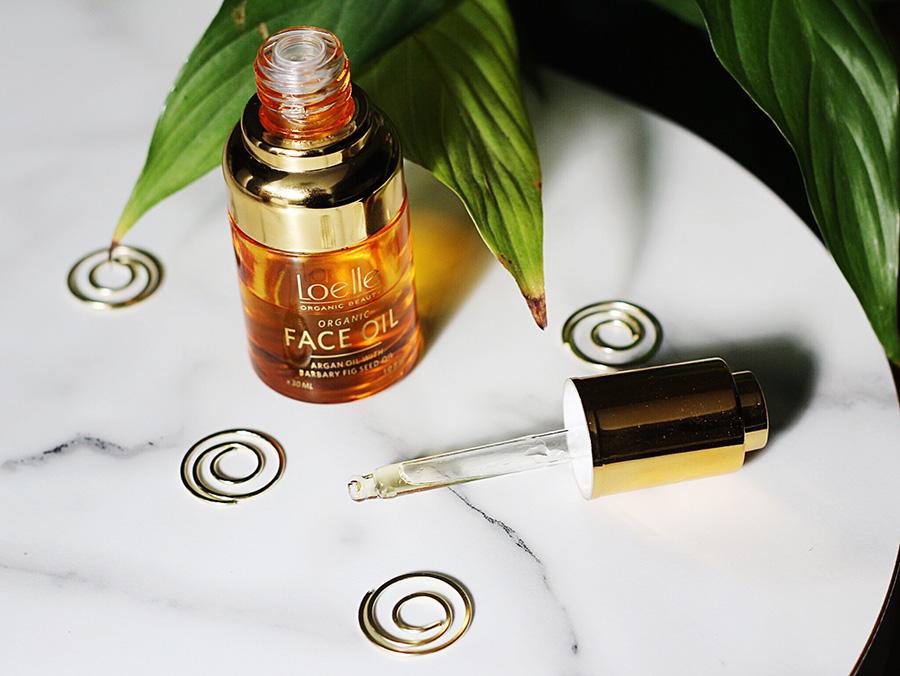 Loelle Face Oil De Luxe Barbary Fig Seed Oil Argan Oil
