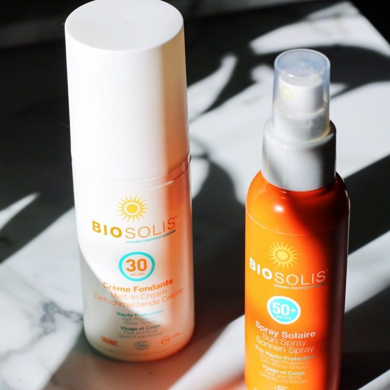 Biosolis Suncare | Sun Spray SPF50 & Melt-In Cream SPF30