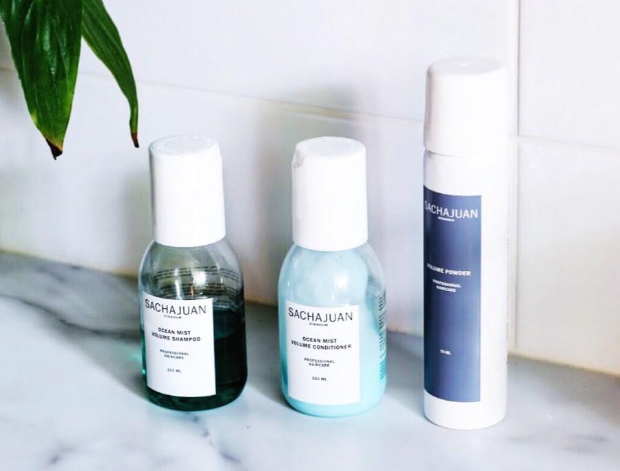 SachaJuan Ocean Mist Volume Shampoo & Conditioner and Dry Shampoo