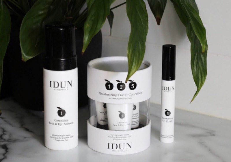 IDUN Minerals Skincare Travel and Cleansing Mousse, Eye Cream