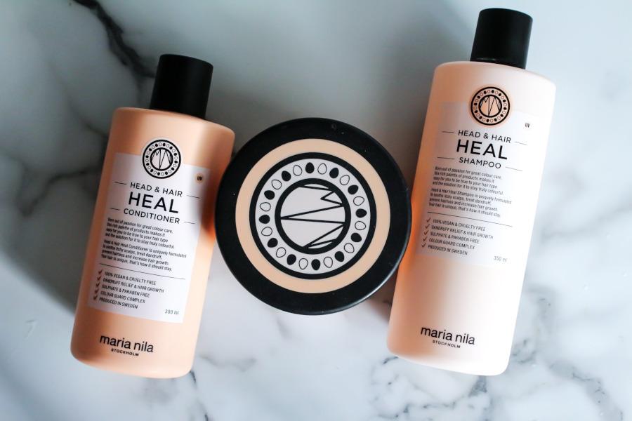 Maria Nila Head & Hair Heal Trio Shampoo Conditioner and Hair Masque review