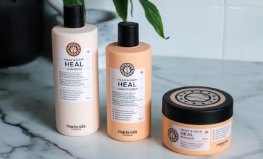 Maria Nila Head & Hair Heal Shampoo, Conditioner & Hair Masque