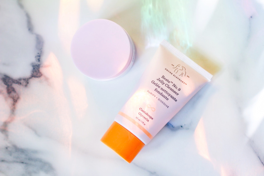 Drunk Elephant The Littles Beste Jelly Cleanser and Lala Retro Whipped Cream