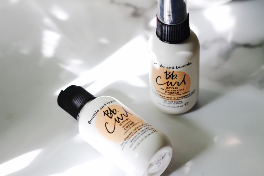 Bumble & Bumble Curl Primer and Curl Defining Creme review