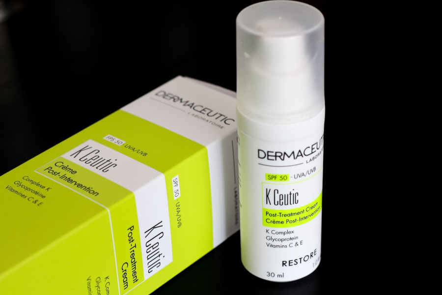 Dermaceutic K Ceutic post-treatment cream review