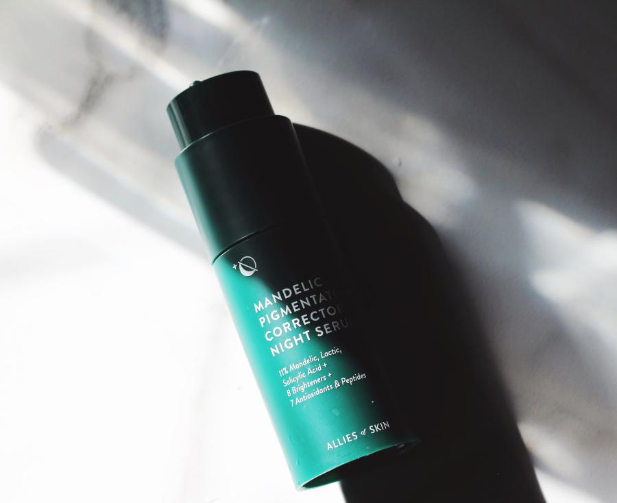 Allies of skin mandelic pigmentation corrector night serum review