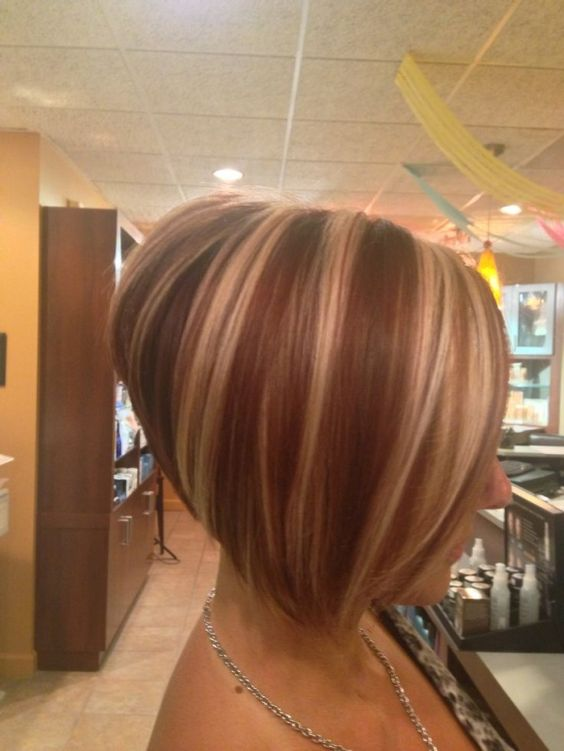 Impresivne enske frizure bob sa pramenovima GALERIJA  Friz