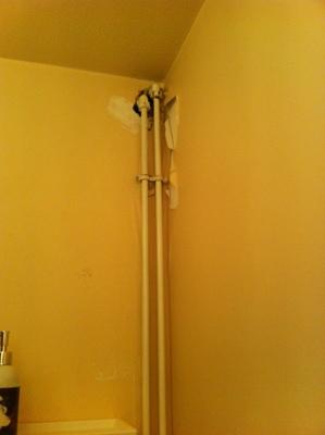 Faire un coffrage pour cacher tuyaux dans wc Avignon Autre bricolage de mur proposez vos