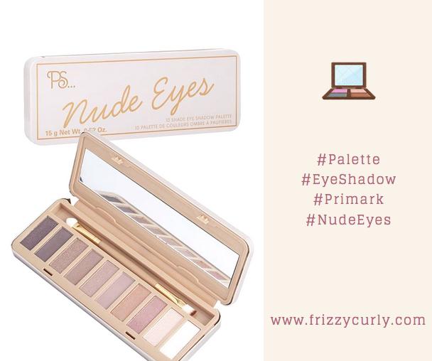 Palette Nude Eyes Primark