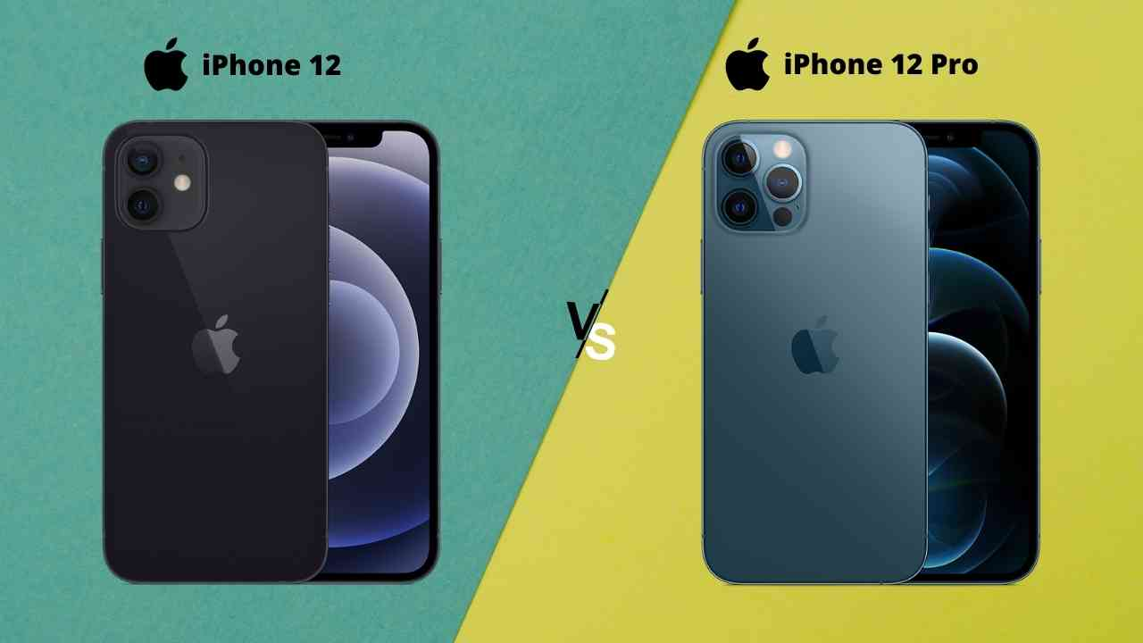 iPhone 12 vs iPhone 12 Pro: Comparison between iPhone 12 and iPhone 12 pro