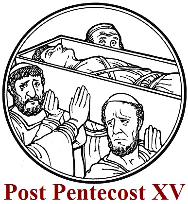 Carissimi: Today's Mass; Feria of Sunday XV Post Pentecost