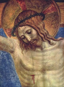 Crucifixion detail, Fra Angelico