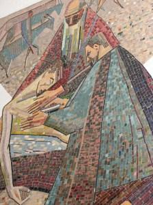 Mosaic of the Good Samaritan, Vienna Austria.
