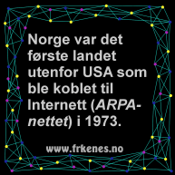 Trivia insta-ARPAnetNorge