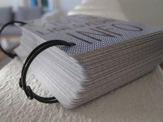 Spillekort som bog