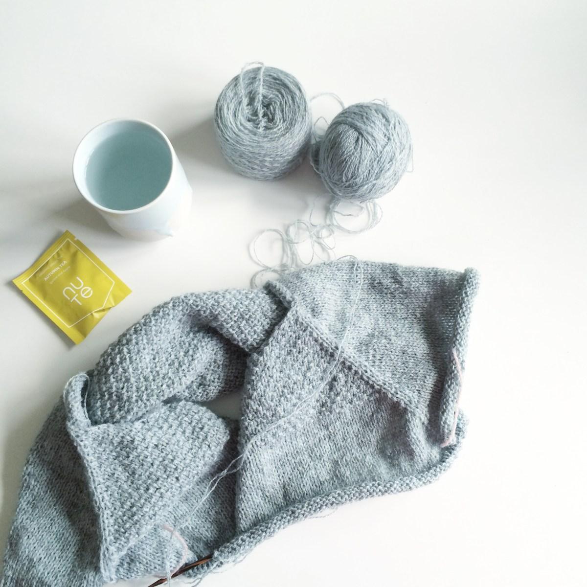 Om at have gang i mange strikkeprojekter