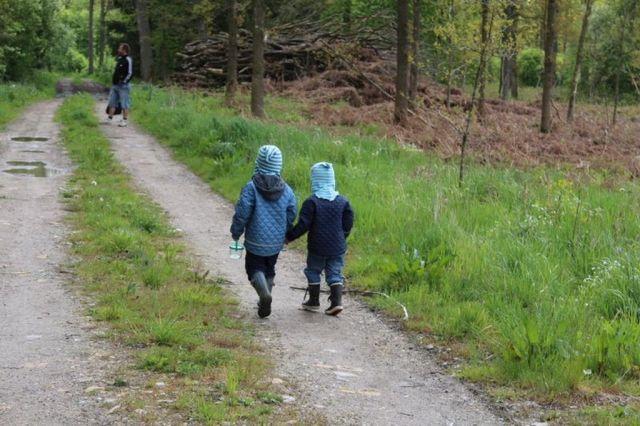 skovtur, skov, de-bedste-venner