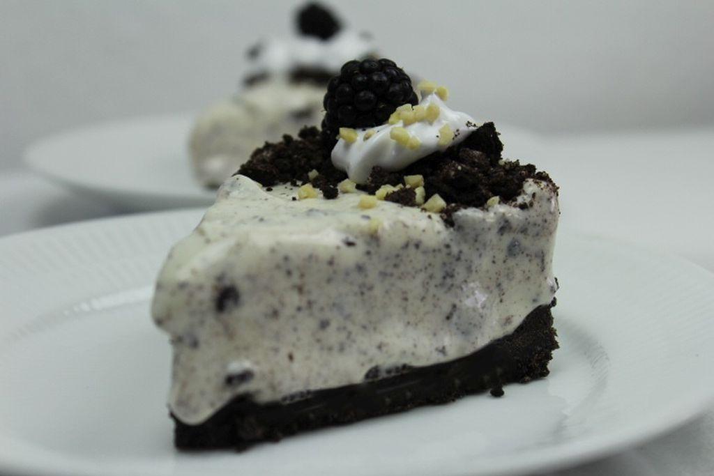 Oreo cheesecake - islagkage